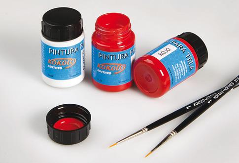Nuestras pinturas para tela están fabricadas especialmente para pintar en  cualquier tipo de tela 297c5edce20